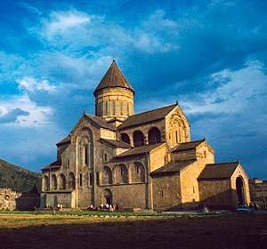 Georgian stone church