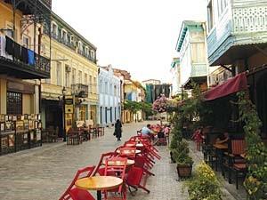 Downtown Mestia, Georgia