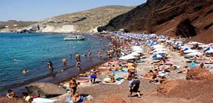 Beach day in Miykonos