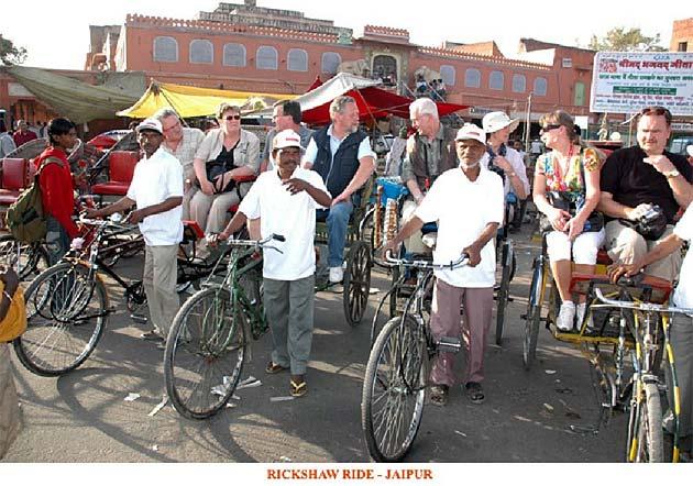 Rickshaw ride - Jaipur