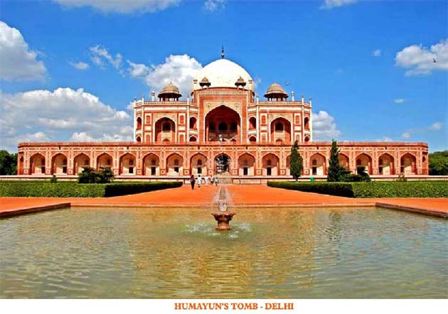 Humayun's Tomb - Delhi, India and Nepal