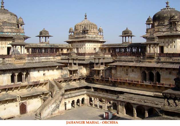 Jahangir Mahal - Orchha, India and Nepal