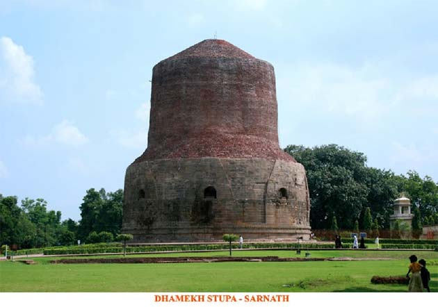 Dhamekh Stupa - Sarnath, India and Nepal