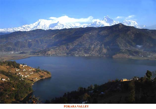 Pokara Valley, India and Nepal