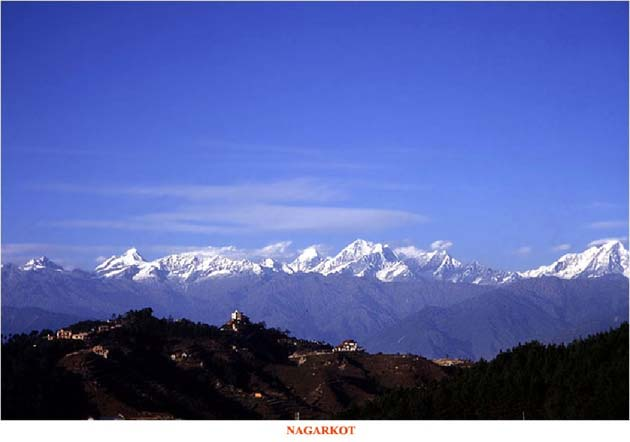 Nagarkot, India and Nepal