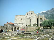 A beautiful stone structure in Kosova