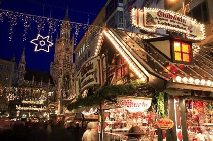 Munich and Vienna at Christmas Time