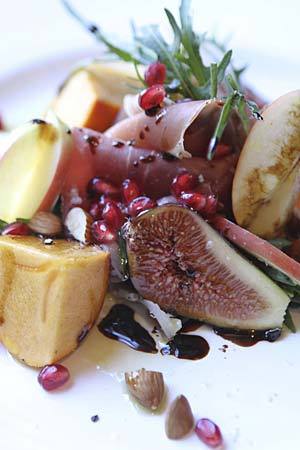 delicious native fruit salad