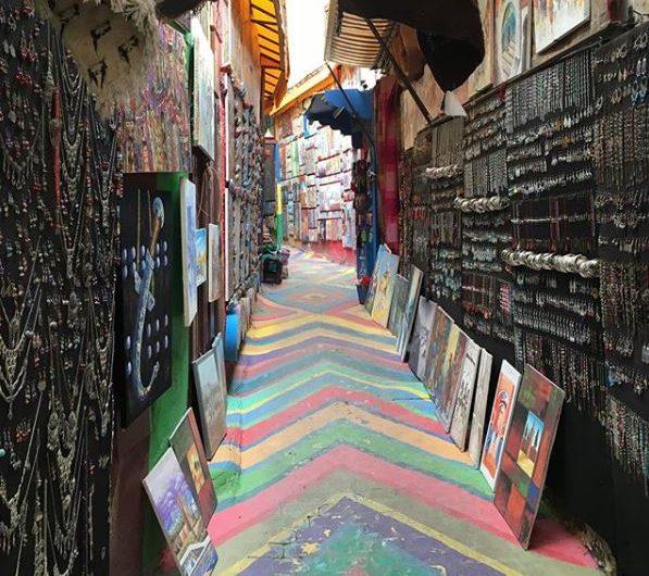 Morocco - Fez art alley