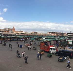Main Square in Marrakech